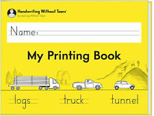 NEW Handwriting Without Tears My Printing Book Learning without Tears 2018