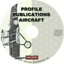 Aircraft by Profile Publications {  Air Force & Airplane History Books } on DVD