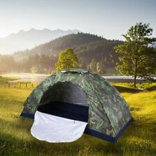 Portable Camouflage Pop Up Camping Hiking Automatic Instant Tent 1-4 Person Camo
