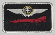 Écusson patch namemsschild f-4 Phantom II combat Observateur en or... a3604