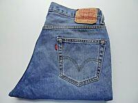 """W36 L30 LEVIS 550 Mens Jeans Relaxed Fit Blue Denim SIZE Waist 36"""" Leg 30"""""""