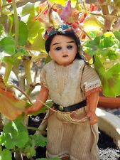ANTIQUE DOLL FRENCH INDIAN..