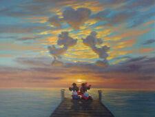 Not Framed Canvas Print Home Decor Wall Art disney<Minnie and Mickey Romantic>
