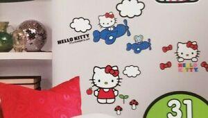 Sanrio Hello Kitty Wall Decals NIP