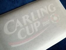 Lextra 2007 Carling Cup Final Player Issue Arm Patch Set Chelsea V Arsenal
