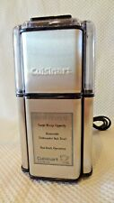 CUISINART DCG-12BC GRIND CENTRAL STAINLESS STEEL COFFEE GRINDER