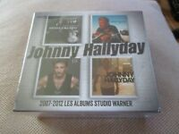 "COFFRET 4 CD NEUF ""JOHNNY HALLYDAY - 2007-2012 : LES ALBUMS STUDIO WARNER"""