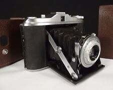 Agfa Isolette 120 Folding Camera Agnar 1:4.5 85mm Lens GERMANY antique vintage
