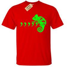 Niño Niña Comma Camaleon Camiseta Divertido Regalo Años 80 90s