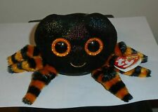 Ty Beanie Boos ~ COBB the Halloween Black & Orange Spider (6 Inch) 2019 NEW
