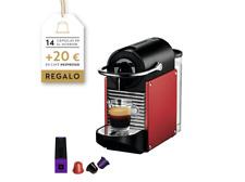 Cafetera de cápsulas - Nespresso De Longhi EN125R ROJA PIXIE Presión 19 bares