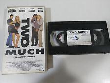 TWO MUCH VHS TAPE COLECCIONISTA FERNANDO TRUEBA ANTONIO BANDERAS GRIFFITH