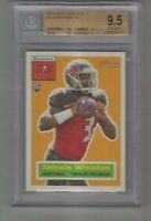 Jameis Winston 2015 Topps Heritage RC Rookie # 3 Graded BGS 9.5 Gem Mint Tampa