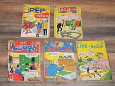 5 Comics Archie and Me, Laugh, PEP, Life with Archie, Archie Series  1965 1966