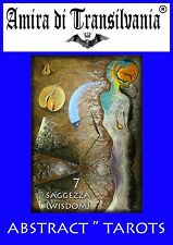 Rare tarot Abstract painting original edition+book+plan signed author certified