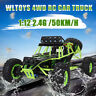 Wltoys 12428 1/12 2.4G 4WD Electric Brushed Crawler RTR RC Car Remote Toy 50km/h