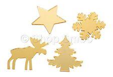 24 X Surtidos christmas/xmas temática Stick en Troquelado Formas Para Regalos Artesanales