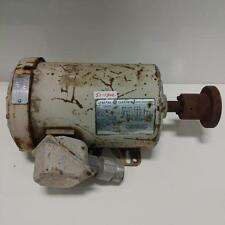 GE 1725RPM 1HP ELECTRIC MOTOR INCOMPLETE PART NUMBER 48WG8001 *kjs*
