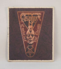 ASPHYX Embrace the Death (Printed Small Patch) (New)