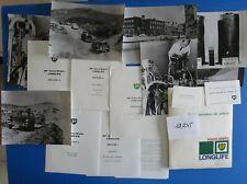 N°12245 / dossier de presse huile BP Visco-static 1962 PEUGEOT 404