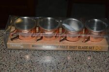 Moscow Mule Copper Shot Glasses - Set of 4