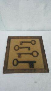 Vintage Key Wall Decor
