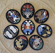Vintage Eggs Ornaments Prairie Schooler Cross Stitch Pattern Book 184