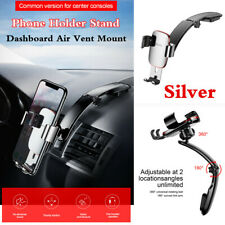 1Pcs Car Dashboard Air Vent Mount Long Link Arm Gravity Metal Phone Holder Stand