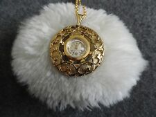 Up Necklace Pendant Watch Sovereign 17 Jewels Wind