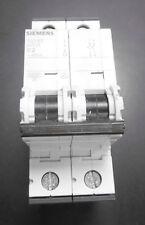 Siemens 5SY6202-7 C2 Sicherungsautomat MCB 2pol 2-polig Leitungsschutzschalter