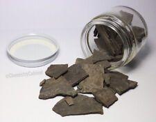2oz Of Shale, Natural Mineral, Chemistry Sample, Mineralogy Jar, Rocks, Stones