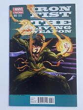 Iron Fist The Living Weapon #3 variant