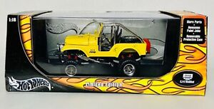 Hot Wheel Jeep CJ-5 (Factory Modified) - Limited Edition 1:18 Scale