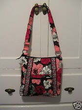 Vera Bradley~Hipster~Mocha Rouge~Retired~NWOT~Brown~Pink~New With Tags~Crossbody
