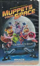 Muppets from Space VHS, 1999, Clam Shell Case Kermit Miss Piggy Gonzo & More