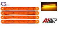 4x Naranja Ámbar 24v 12 LED intermitente lateral Luces Indicadoras De
