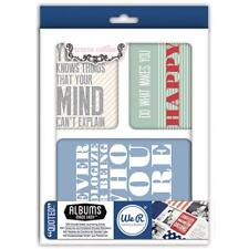 WE R MEMORY KEEPERS  JOURNALING CARDS  QUOTED  by TERESA COLLINS  62345-8