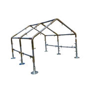 """1"""" Pipe High Peck Canopy Fittings for 10' x 10'/20'/30'/40' Carport Canopy Farm"""