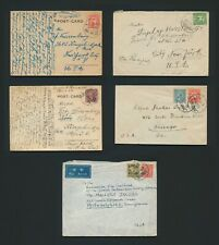 CHINA COVERS & POSTCARDS 1937-1948 JEWISH REFUGEE MAIL TO USA, INC WWII