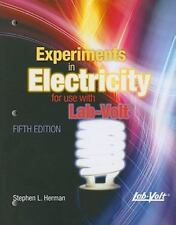 Lab Manual Experiments in Electricity for Use with Lab-Volt, , Herman, Stephen,