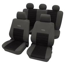 Sports Style Seat Cover set - For Toyota Camry 2001-2006 - Grey & Black