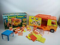 Vintage Barbie Country Camper with Loads Extra
