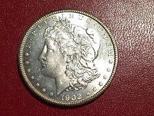 1902-O MORGAN SILVER Dollar Beautiful BU Coin $1 - 1902O
