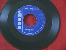 CHUCK BERRY~ ROCK & ROLL MUSIC~ VG+=~ BLUE FEELING~ CHESS 1671~~ R&B 45