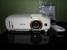 Epson PowerLIte Home Cinema 2045 3D 1080p 3LCD Projector System 24 Total Hours!