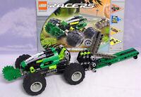 LEGO Technic Technik 8469 Racers Slammer Raptor Abschusrampe komplett Bauplan #3