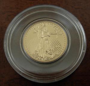 US 2017 Gold 1/10 oz $5 Eagle UNC