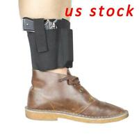 Concealed Ankle Holster Leg Pistol Holster with Mag Pouch Fits Most Pistols US