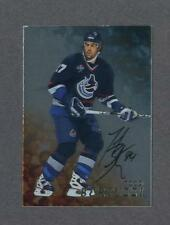 Todd Bertuzzi signed 1998-99 Be A Player In The Game Gold hockey card