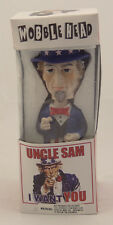 """UNCLE SAM """"I WANT YOU"""" WOBBLE HEAD TOY ~ 2001 Bobblehead Bobble Head 7-Inch ~NEW"""